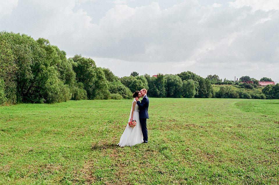 Мой первый опыт с плёнкой в свадебной фотографии
